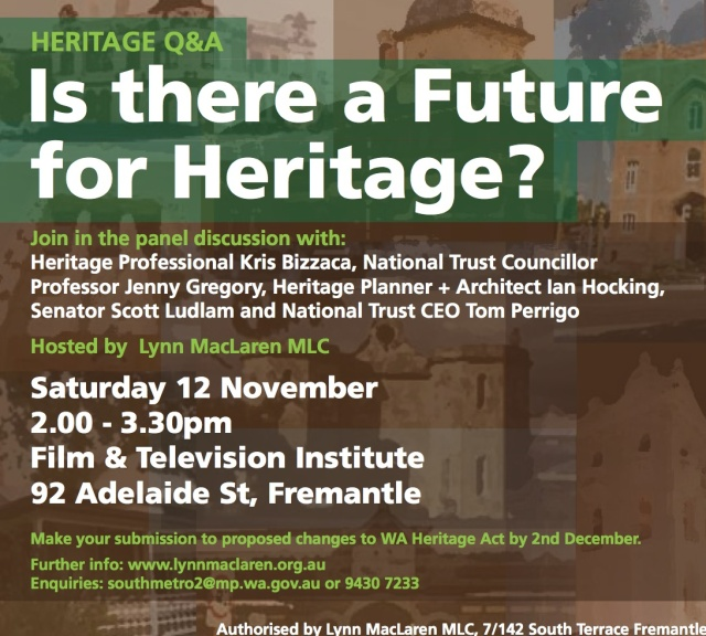 Heritage Q and A