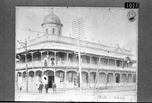 Esplanade Hotel c1907 Photograph courtesy of the Fremantle City Library History Centre
